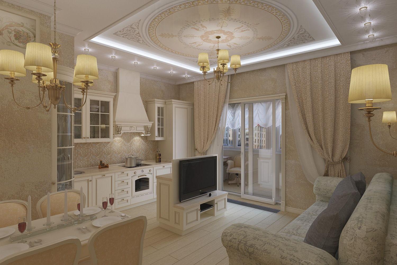 Ремонт квартиры в классическом стиле