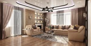 Элитный ремонт четырёхкомнатной квартир