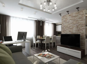Ремонт трёхкомнатной квартиры вторичка